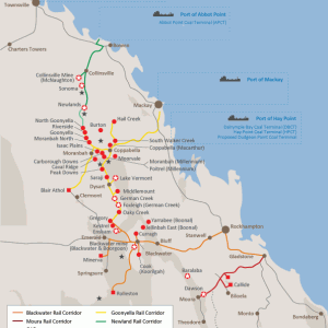 Queensland Coal Mine & Ports