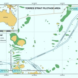 Torres Strait and Great North East Channel Chartlet