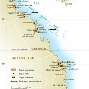 Queensland Sugar Ports